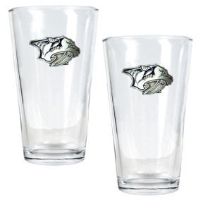 Nashville Predators 2pc Pint Ale Glass Set