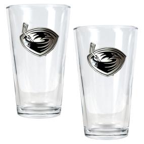 Atlanta Thrashers 2pc Pint Ale Glass Set