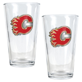 Atlanta Flames 2pc Pint Ale Glass Set