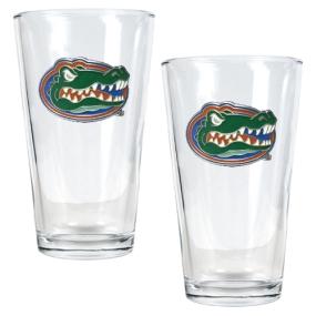Florida Gators 2pc Pint Ale Glass Set