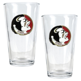 Florida State Seminoles 2pc Pint Ale Glass Set