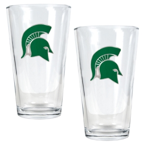 Michigan State Spartans 2pc Pint Ale Glass Set