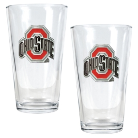Ohio State Buckeyes 2pc Pint Ale Glass Set