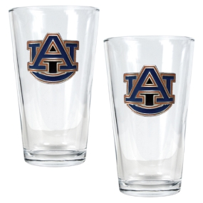 Auburn Tigers 2pc Pint Ale Glass Set