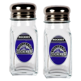 Colorado Rockies Salt and Pepper Shaker Set
