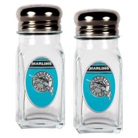 Florida Marlins Salt and Pepper Shaker Set