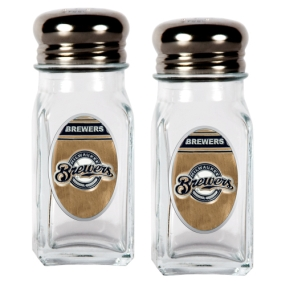 Milwaukee Brewers Salt and Pepper Shaker Set