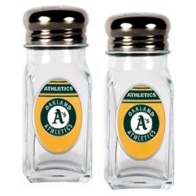 Oakland A's Salt and Pepper Shaker Set