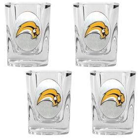 Buffalo Sabres 4pc Square Shot Glass Set
