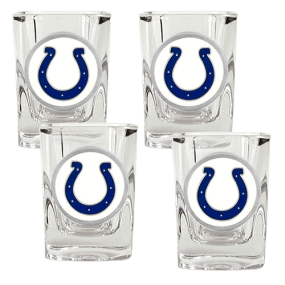 Indianapolis Colts 4pc Square Shot Glass Set