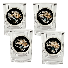 Jacksonville Jaguars 4pc Square Shot Glass Set