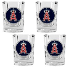 Anaheim Angels 4pc Square Shot Glass Set