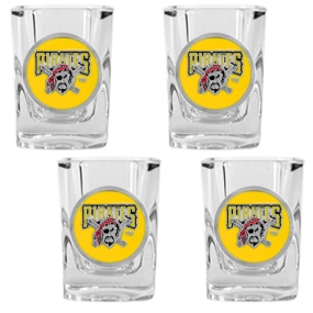 Pittsburgh Pirates 4pc Square Shot Glass Set