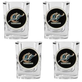 Washington Wizards 4pc Square Shot Glass Set