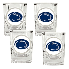 Penn State Nittany Lions 4pc Square Shot Glass Set