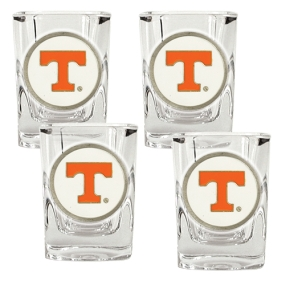 Tennessee Volunteers 4pc Square Shot Glass Set