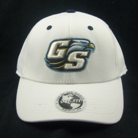 Georgia Southern Eagles White One Fit Hat