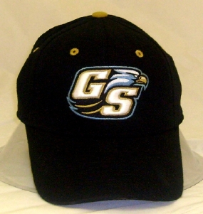 Georgia Southern Eagles Black One Fit Hat