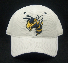 Georgia Tech Yellow Jackets White Elite One Fit Hat