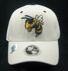 Georgia Tech Yellow Jackets White One Fit Hat