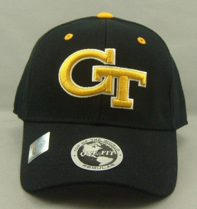 Georgia Tech Yellow Jackets Black One Fit Hat