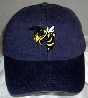 Georgia Tech Yellow Jackets Adjustable Crew Hat
