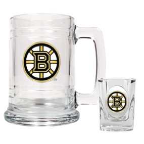 Boston Bruins Boilermaker Set