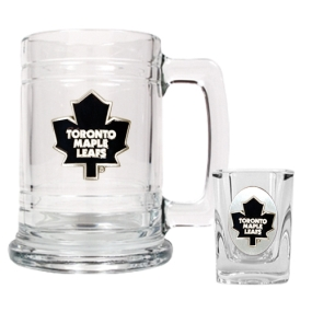 Toronto Maple Leafs Boilermaker Set