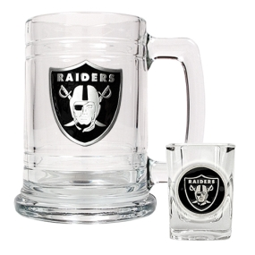 Oakland Raiders Boilermaker Set