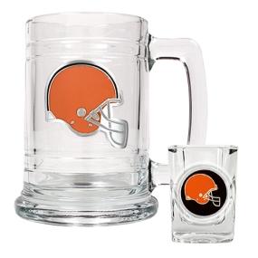 Cleveland Browns Boilermaker Set
