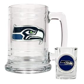 Seattle Seahawks Boilermaker Set