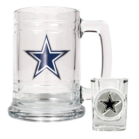 Dallas Cowboys Boilermaker Set