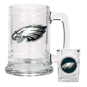 Philadelphia Eagles Boilermaker Set