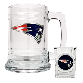 New England Patriots Boilermaker Set