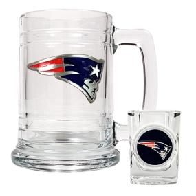 New England Patriots Boilermaker Set