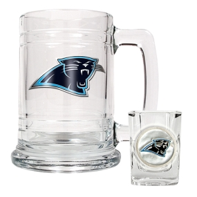 Carolina Panthers Boilermaker Set