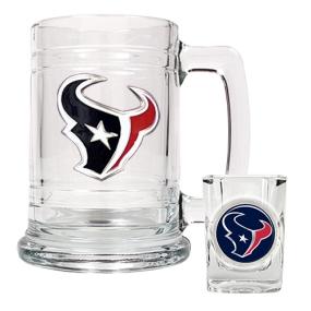 Houston Texans Boilermaker Set