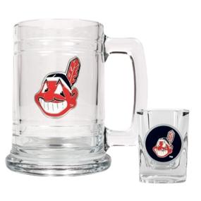 Cleveland Indians Boilermaker Set