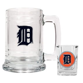 Detroit Tigers Boilermaker Set