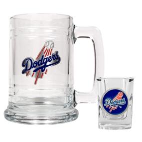 Los Angeles Dodgers Boilermaker Set