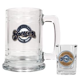 Milwaukee Brewers Boilermaker Set