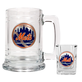 New York Mets Boilermaker Set