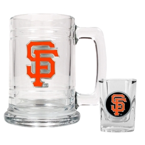 San Francisco Giants Boilermaker Set