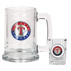 Texas Rangers Boilermaker Set