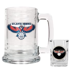 Atlanta Hawks Boilermaker Set