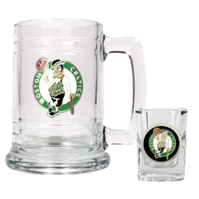 Boston Celtics Boilermaker Set