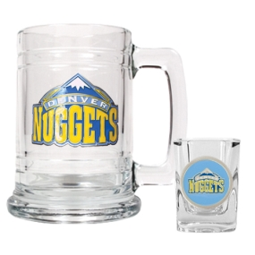Denver Nuggets Boilermaker Set