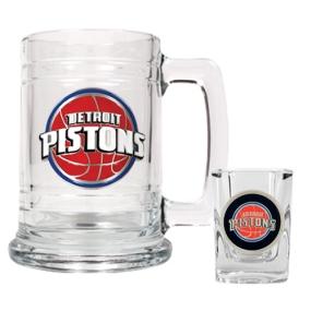 Detroit Pistons Boilermaker Set