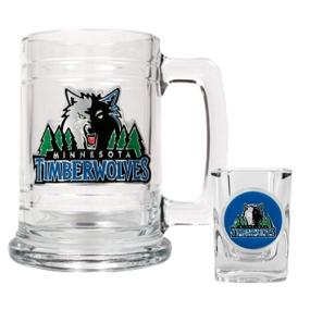 Minnesota Timberwolves Boilermaker Set