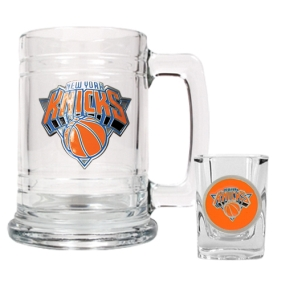 New York Knicks Boilermaker Set